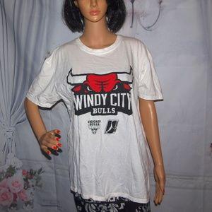 Chicago Windy City Bulls T-Shirt NBA-D League XL